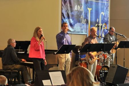 Worship Team from Resurrection Lutheran Church