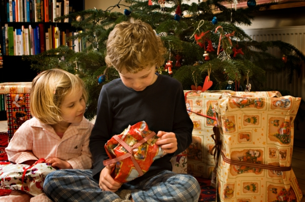Christmas Children and Presents