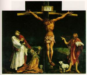 The Crucifixion by Matthias Grunewald
