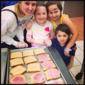 Preparing Sandwiches at Dorothy Day Center