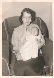 My baptism with Aunt Nola Mathre