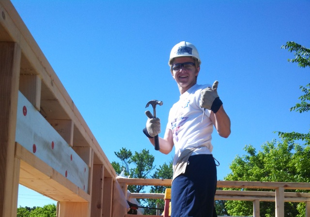Jeremy at Habitat
