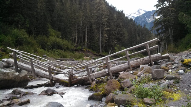 Kennedy Creek Bridge on the PCT