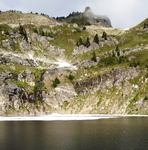 Mica Lake in Glacier Wilderness