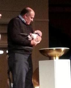 Grace Amelia's Baptism  140330  John Crosby cropped
