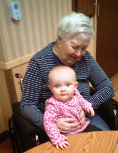 Mom and Grace