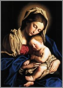Madonna and Jesus