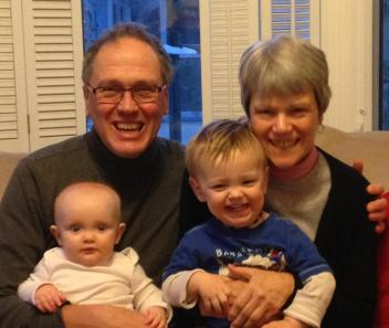 One passion that Carolyn and I share is our love for our grandchildren.