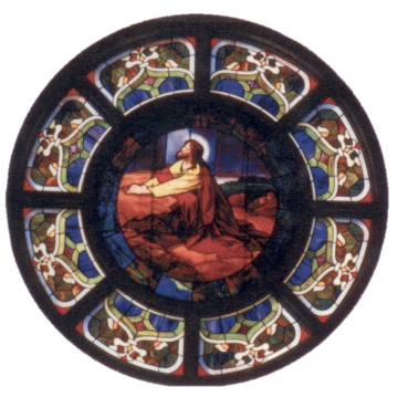 Gethsemane window background removed